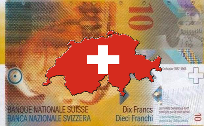 The Swiss Franc scraps cap on Euro